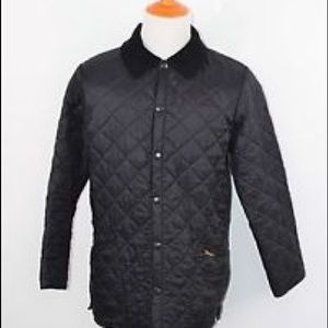 Barbour Liddesdale Navy jacket size small